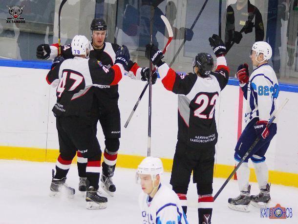 Хоккейный поединок на Кубке губернатора завершился крупной победой тамбовчан