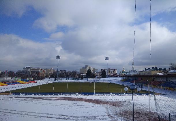 Весна согрела стадион «Спартак»