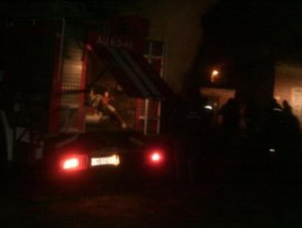 Ночью в Тамбове сгорела машина