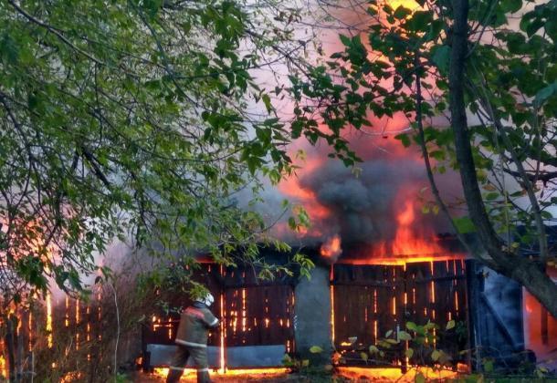 Появилась громкая версия причины вчерашнего пожара на Лермонотовской