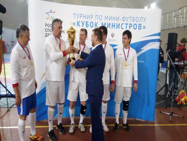 На Форуме во Владимирской области тамбовские спортивные чиновники выиграли Кубок на глазах у президента