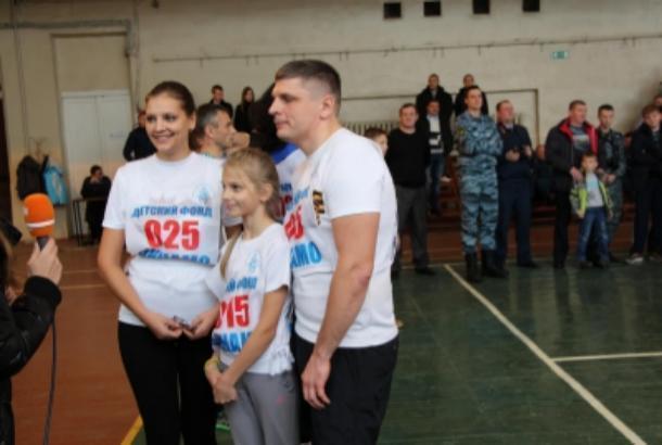 Тамбовские полицейские Зайка – самая дружная и спортивная семья