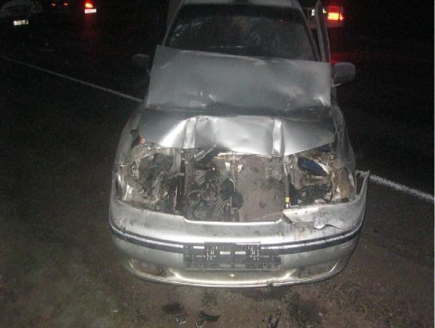 На трассе М6 в Мичуринском районе столкнулись три машины