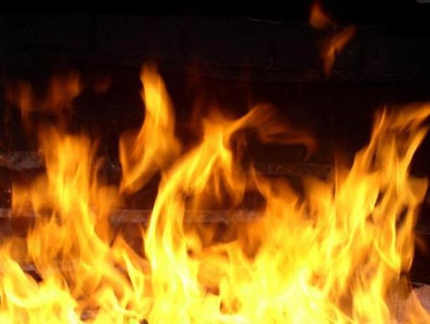 В селе Тулиновка Тамбовского района сгорела летняя кухня