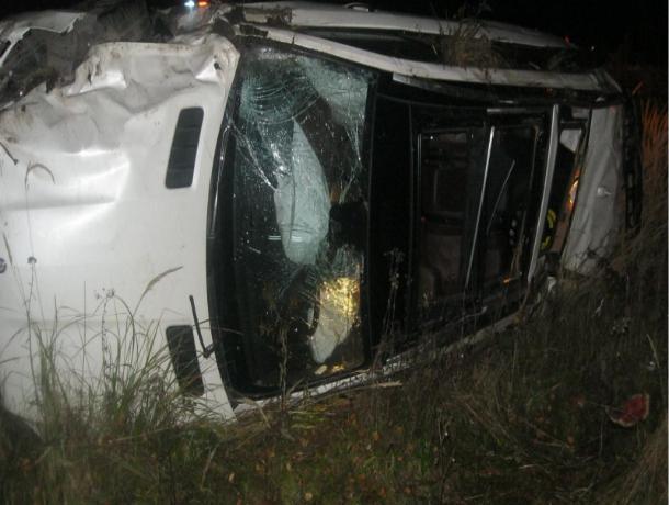 «Мерседес» слетел в кювет в Мичуринском районе, в результате чего погибла пассажирка
