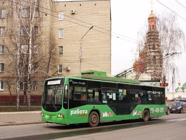 Жители Тамбова протестуют против отмены троллейбусов