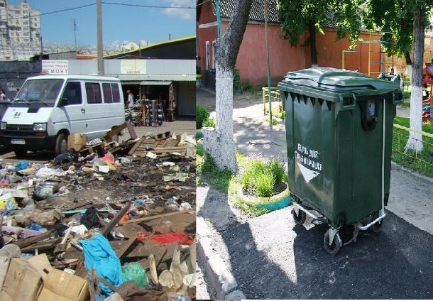 Мичуринск выбирается из под мусорных завалов