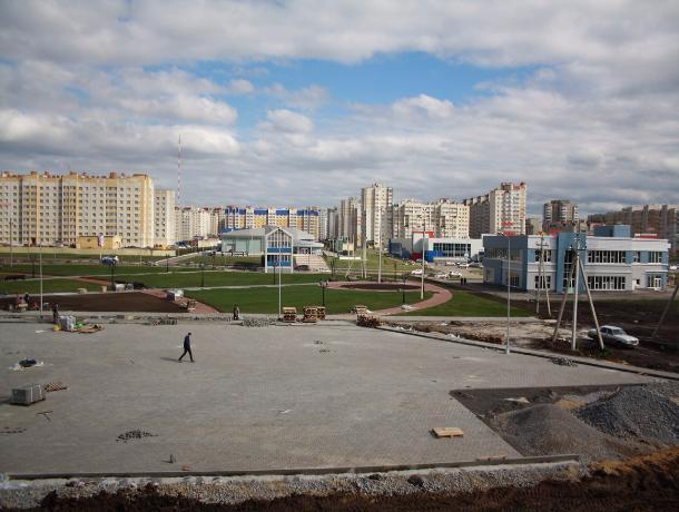 Пешеходный фонтан и спортивные арены сделали север Тамбова центром отдыха горожан