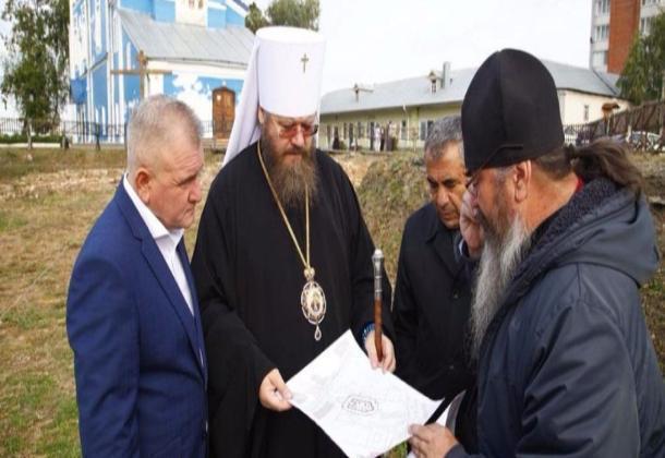 В Тамбове собираются воссоздать архитектурно-исторический памятник Ново-Покровский храм