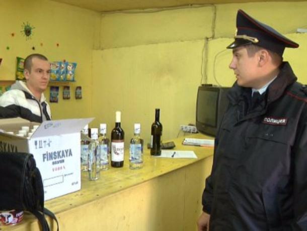 Сотрудники полиции города Тамбова прекратили работу еще одной гаражной точки торговли спиртным