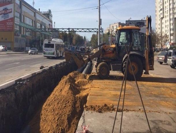 Реконструкция тепломагистрали на бульваре Энтузиастов в Тамбове, вопреки опасениям, окончена точно в срок