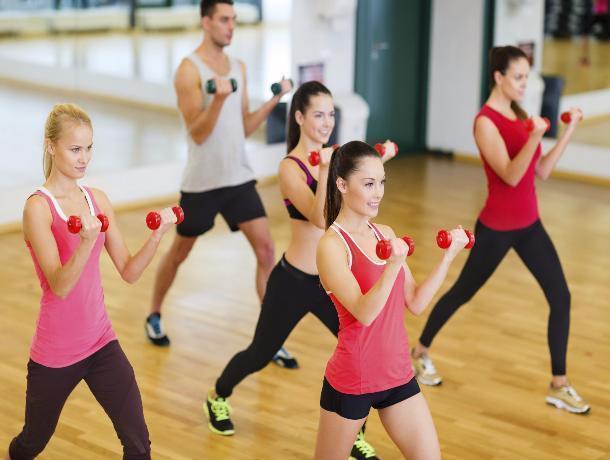 Тамбовчане бесплатно позанимались фитнесом
