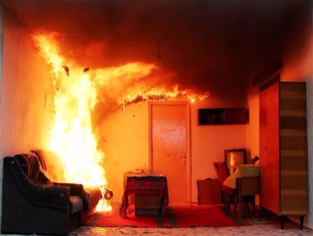Два трупа обнаружены на пепелище жилого дома в Моршанске