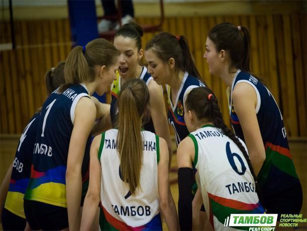 Тамбовские волейболистки выиграли студенческий Кубок ЦФО
