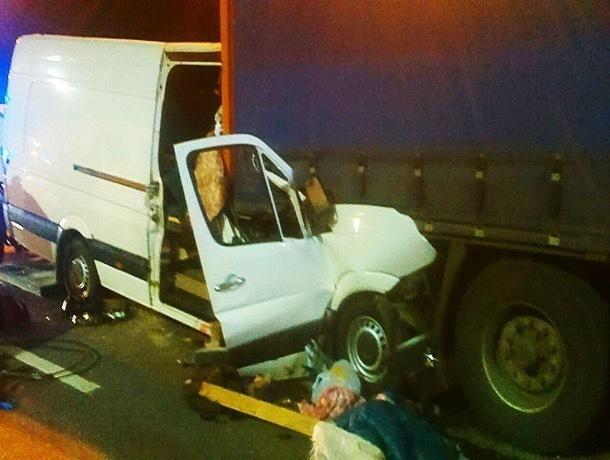 Возможным виновником ДТП в Домодедово был водитель микроавтобуса