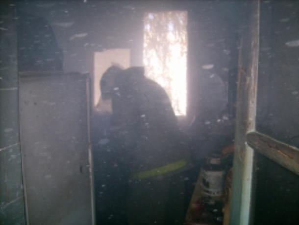 Утро в Сосновском районе началось с пожара