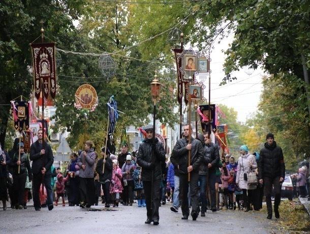 В Мичуринске пройдёт общегородской крестный ход
