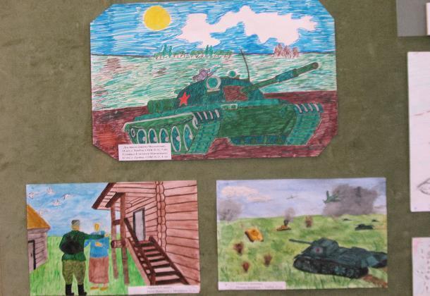 Какого цвета Великая Отечественная война? Ответ в детских рисунках