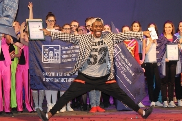 Танцевальный баттл прошел в Тамбовском государственном университете