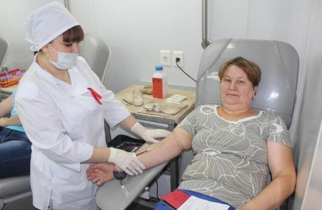 Мобильный пункт заготовки крови приехал в Жердевский район