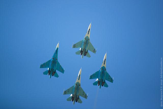 В два раза больше самолетов пролетят над Тамбовом на авиашоу