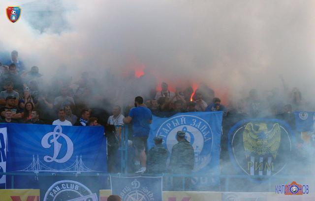 Московское «Динамо» получило штраф за поведение своих болельщиков в Тамбове