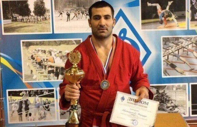 Тамбовский борец победил на всероссийских соревнованиях по боевому самбо