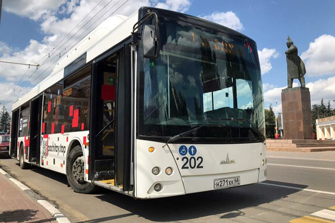 Тамбовский автобус со стихами внезапно замолчал