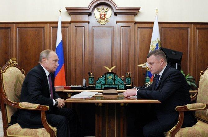 Путин ждет огромного финансового эффекта отреализации проекта подобыче титана