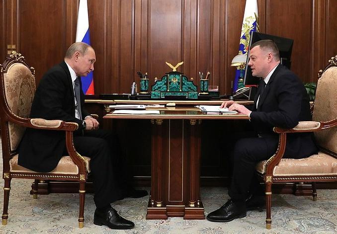 Президент страны встретился с Александром Никитиным в Кремле