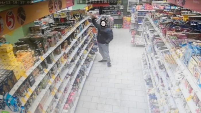 Воровство в супермаркетах раскрыто с помощью камер видеонаблюдения