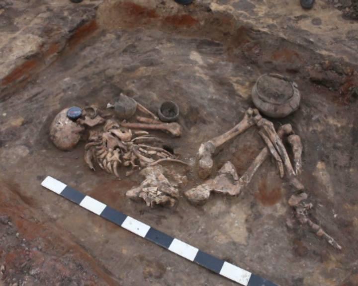 Под Котовском завершены масштабные раскопки 40 захоронений
