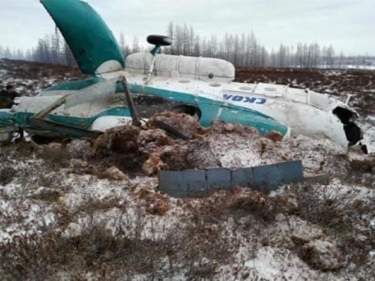 На Кершенское водохранилище упал легкомоторный самолет