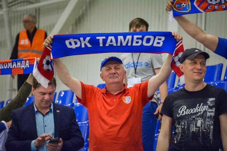 «Тамбов» вышел в стыковые матчи ФНЛ!