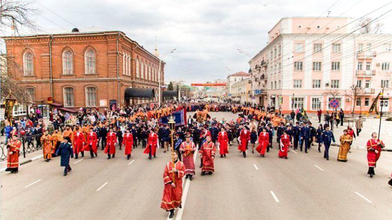 На Пасху тамбовчан ждет праздничное шествие