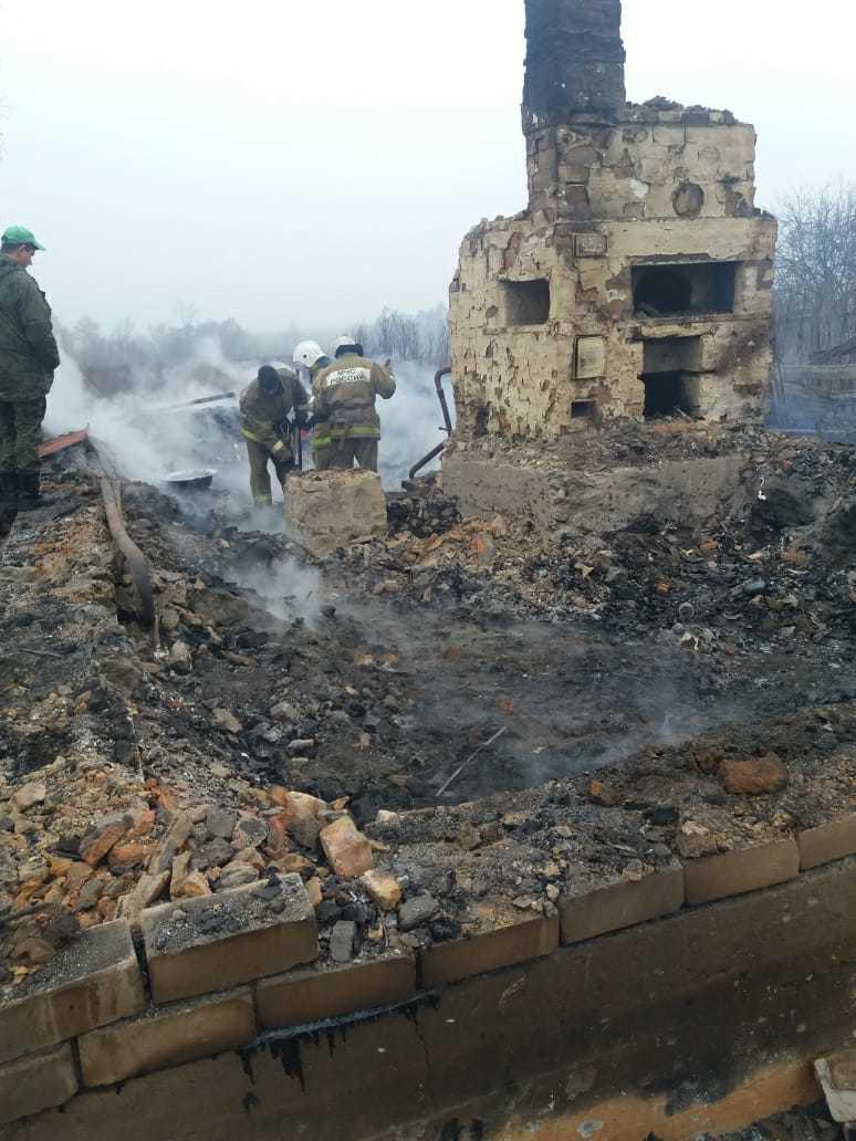 В Тамбовской области при пожаре погибли трое человек