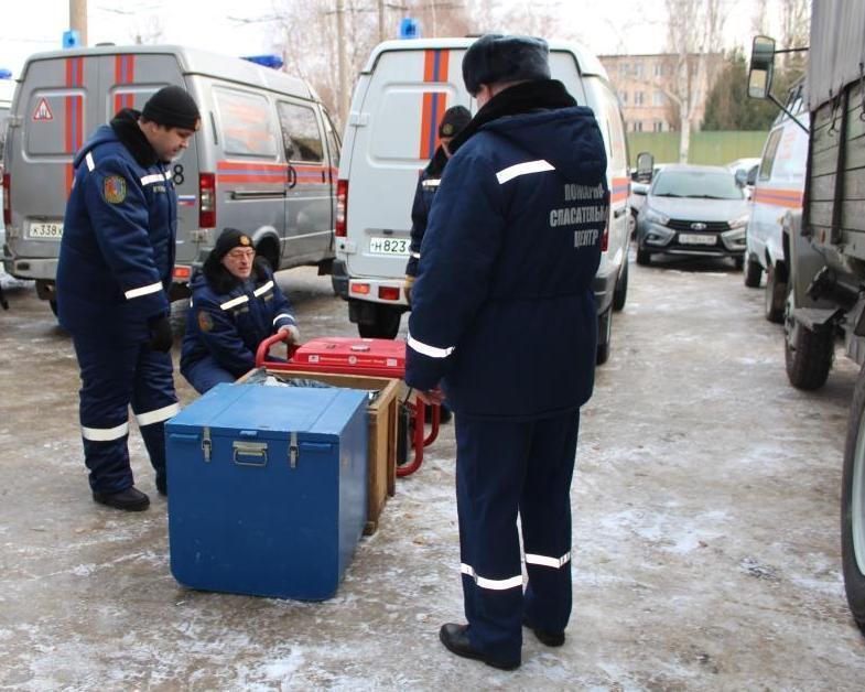 Готовность к действиям в условиях угрозы теракта отработали тамбовские спасатели