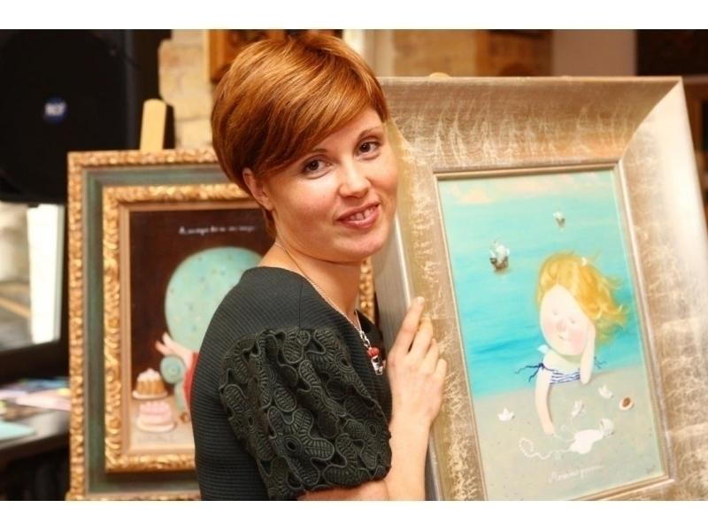 Впервые в Тамбове решено организовать персональную выставку Евгении Гапчинской