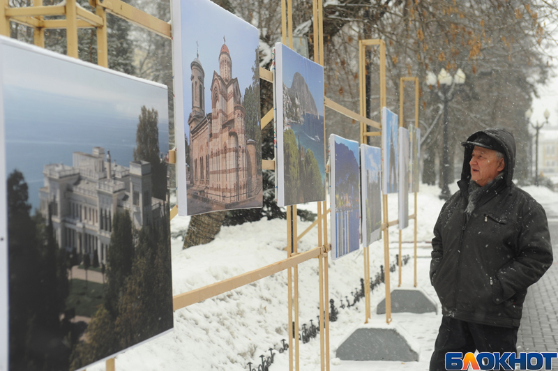 Возможность побывать в Крыму подарила жителям города выставка в сквере Петрова