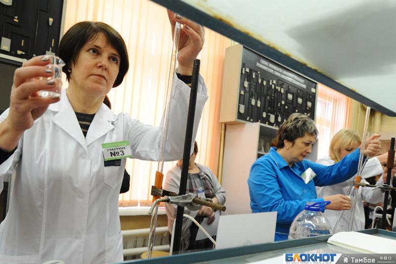 На «Пигменте» выбрали лучшего по профессии «лаборант химического анализа»