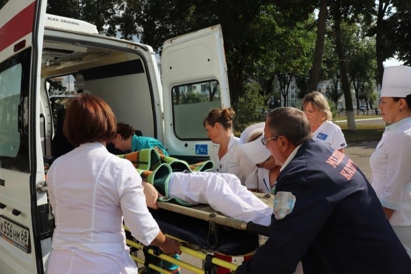Из огня спасали пациенток гинекологического отделения третьей больницы Тамбова