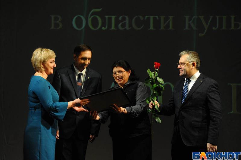 Победили - получайте: лучших деятелей культуры наградили в драмтеатре