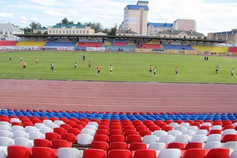 Футбольный клуб «Тамбов» не выйдет на газон домашнего стадиона до ноября