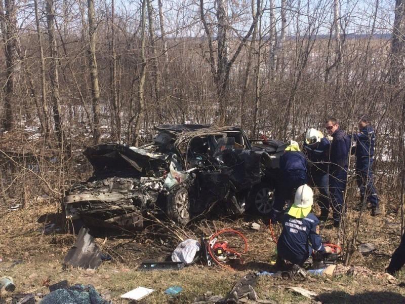В ужасной трагедии под Тамбовом погибли два человека