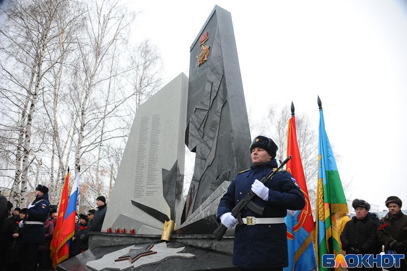 3000 тамбовчан открыли памятник афганцам