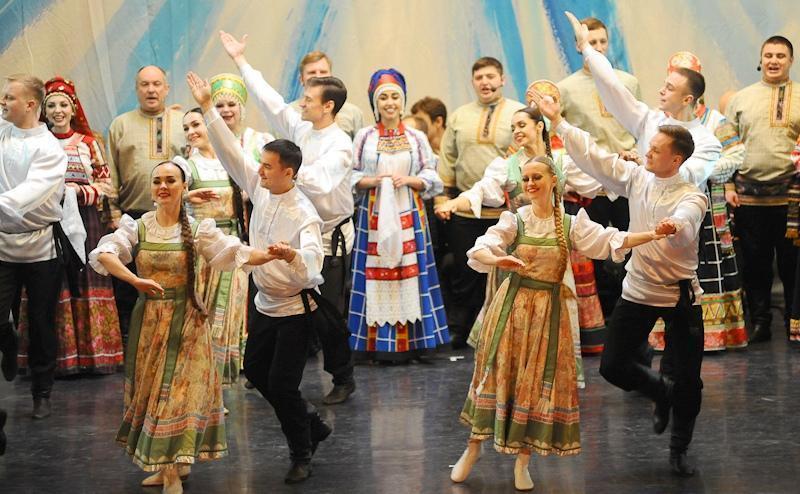Знаменитый тамбовский ансамбль выступит в Государственном Кремлевском Дворце