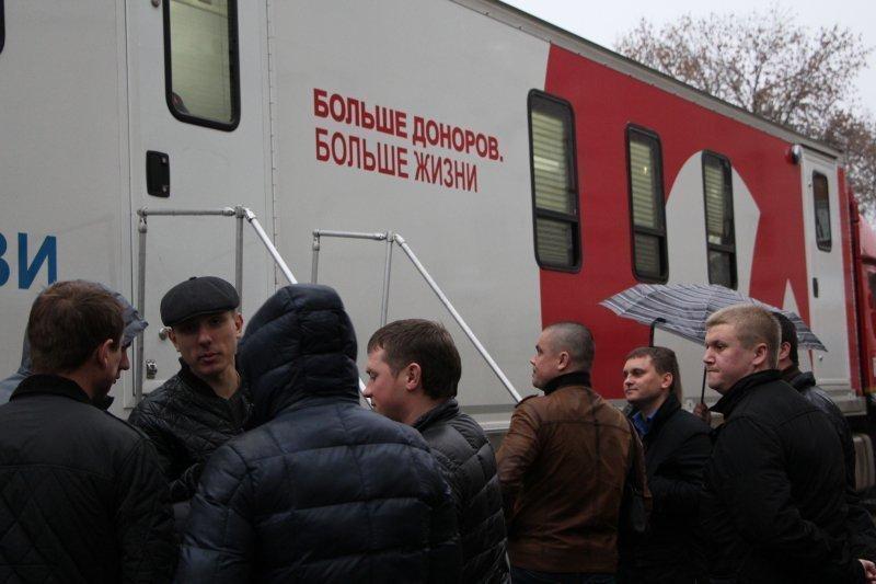 Первомайцы приняли участие в донорской акции