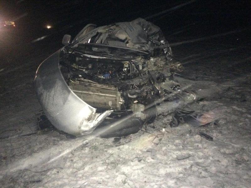 В Рассказовском районе в аварии с участием двух фур погиб водитель микроавтобуса