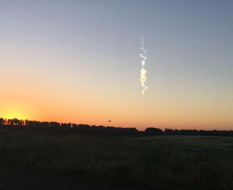 Падение метеорита видели жители соседних с Тамбовской областей