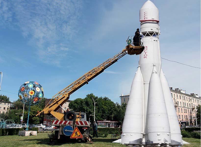 Ракета на кольце: «прорыв в будущее» или арт-объект со сложной судьбой?